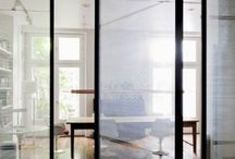 Glass front doors / Glass front doors