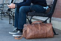 Bags / Leather travel / gym bags. Duffle