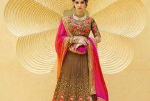 Indian Designer Bridal Wedding Lehenga Choli on Variation Fashion