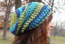 crochet hats / crochet hats / by Mary Spencer
