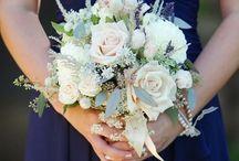 Gail / Navy Blue and Blush Wedding