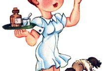 Винтажная медсестра