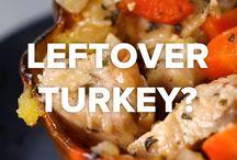 left over turkey food