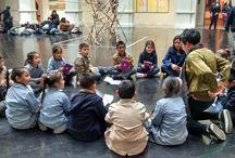 """MAC fue parte de la SEA 2016 / Niños y jóvenes visitaron las obras de la """"Colección MAC"""" del Museo de Arte Contemporáneo en el marco de la Semana de la Educación Artística (SEA), actividad que se realizó con el apoyo del Programa de Acompañamiento y Acceso Efectivo a la Educación Superior (PACE) de la Universidad de Chile. Fotografías: EducaMAC."""