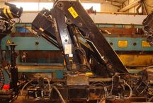 Used Knuckle boom crane Hiab 144 D-2 Duo / Knuckle Boom Loader Cranes for Sale