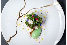 Gastronomy photo / Beauty  placing of the food