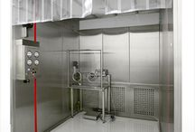 Cleanroom Equipment / Harnessing Esco's experience of close to 30 years in clean air and containment equipment design for the pharmaceutical industry, these booths offer dependable performance in compliance with the latest environmental and operator safety standards.