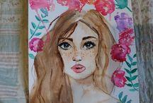 iniciando aquarela / watercolor