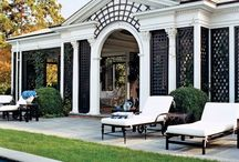 Black and White / using black and white color scheme in home decor