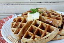 Time to Eat [WAFFLE MAKER] / A collection of recipes using a Waffle Maker. / by Lindsey G.