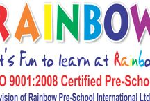 Rainbow Preschool International Ltd / Rainbow Pre-school International Ltd is the largest pre-school set-up in Maharashtra, revolutionising the early childhood education scenario in the country by introducing a self made pedagogy in pre-schools. / by Rainbow Preschool International Ltd