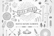 Rustic Nature Elements
