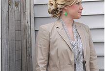 Bridesmaid Hair / by Jessica Lesiak