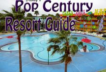 Disney's Pop Century Resort - A Walt Disney World Value Resort / A Value Resort. Resort maps, discount codes, savings, information, room layout, resort guides, tips, fun facts, dining, menus, food, photos, room rates, vacation packages, recreation, pools, kid's activities, and other important information to help you plan your Disney vacation. We love the fun icons like Rubiks Cube, 80's computers, a 50s bowling pin pool, Hippy Dippy pool and more.