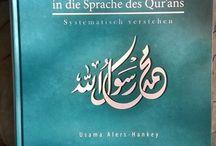 """Einführung in die Sprache des Qur'ans / das Buch """"Einführung in die Sprache des Qur'ans"""" vom Astec-Verlag in der 3. Auflage"""