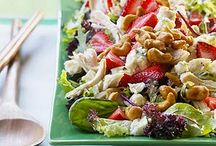 SALADS AND SPRING MEALS / by Pam Thieret