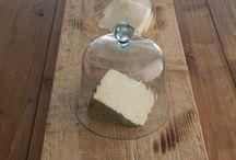 Wood bread boards