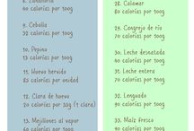 alimentos poco caloricos
