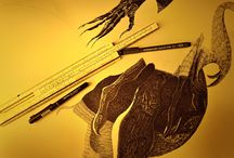my gallery / my handmade graphics
