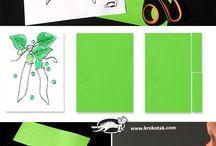 Zöldségek papírból
