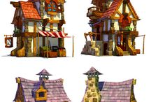 Game concepts artworks 3ds