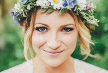 Floral Flowers Flower Crown Wedding Headpiece