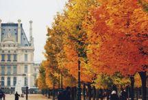 Paris te sonbahar