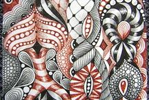 Inspirerende Zentangle tekeningen
