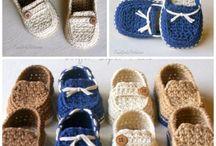Crochet socks/slippers/shoes