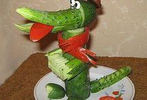 овощи поделки