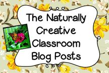 The Naturally Creative Classroom Blog Posts / This board is dedicated to all of my blog posts.  I write about my life, my family and my products!