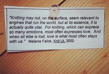 Knitty wisdom
