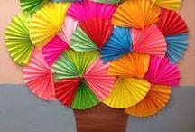 strom farebný
