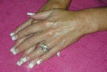 Gel/Acrylic nails (done myself)