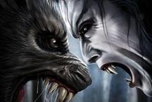 werewolf vs vampire