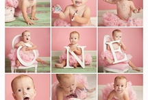 First birthday pic ideas