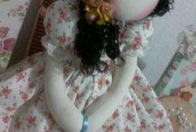 Boneca Rosie / Bonecas de pano