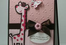 Card Ideas:  Baby/child / by Karen Fortson