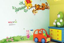 Winnie the Pooh . / Winnie the Pooh decoration designs for a room // just the man himself, really //