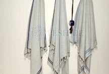 Delfin Peshtemal - 50% cotton & 50% Linen