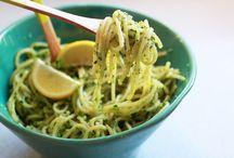 Vegetarian Pasta Recipes / Pasta meals ideas vegan or vegetarian