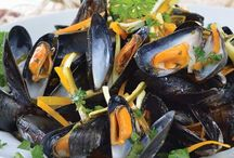 Mussels : The little, dainty blue seafood creature