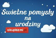 Akupiszmi.pl ♡ świetne pomysły na urodziny / Urodziny, dziecięce imprezy, nocowanie dziecka u znajomych - to idealna okazja do uruchomienia ich wyobraźni i stworzenia czegośniesamowitego, co pobudzi dzieci do podobnych pomysłów w przyszłości.