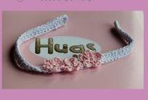 Crochet Baby Headbands - Free Crochet Patterns / Cute Crochet Baby headbands
