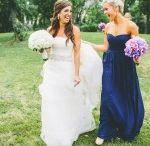 Brides/Weddings / Wedding hair and makeup by Kimberly Steward.