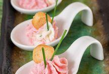 cuillères aperitives au saumon fumé