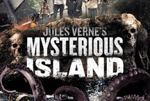 "'Jules Vernes' Mysterious Island (Movie) / (Short Synopsis) ""In this updated adaptation of Jules Verne's beloved literary classic, The Mysterious Island (1874), American history meets fantasy in one of the greatest action-adventure tales of all time."" (Starring) Gina Holden (Final Destination 3), Lochlyn Munro (White Chicks), Pruitt Taylor Vince (Constantine), William Morgan Sheppard (The Prestige) Susie Abromeit (Battle Los Angeles). / by Green Apple Entertainment"