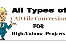 All Types of CAD File Conversion for High Volume Projects