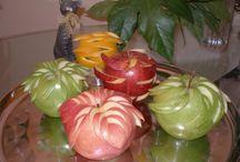 upeat hedelmät