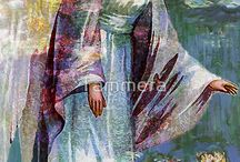 Angel Tarot / Beautiful images and messages from the Angels.